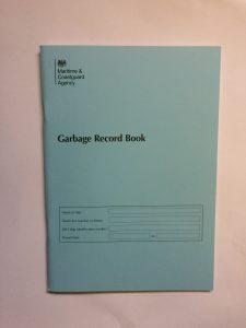 MCA garbage record book