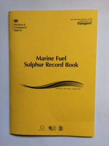 MCA marine fuel sulphur record book