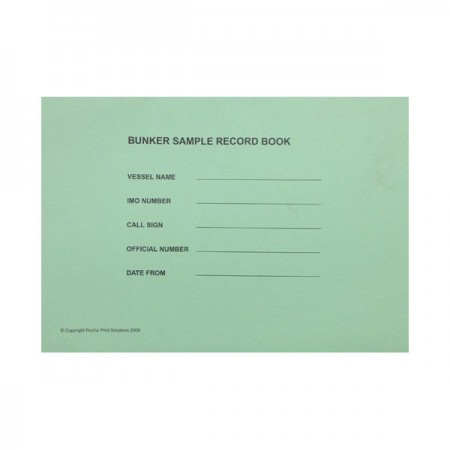Bunker Sample Record Book