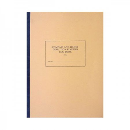 Compass and Radio Direction Finding Log Book
