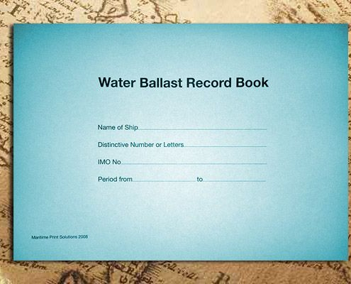 Water Ballast Record Book